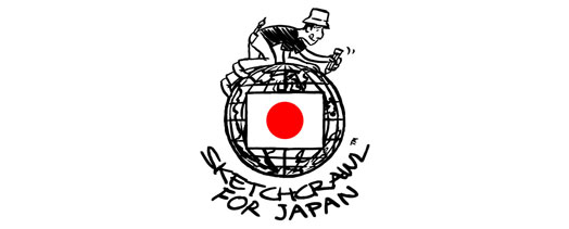 SketchCrawl partners with Give2Asia to help Japan